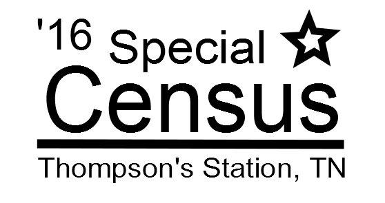 Spec. Census 2016 Thompson's Station