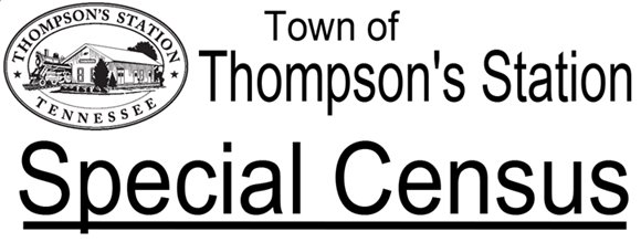 2016 Thompson's Station  Special Census