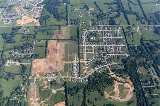 Bridgemore Village Aerial