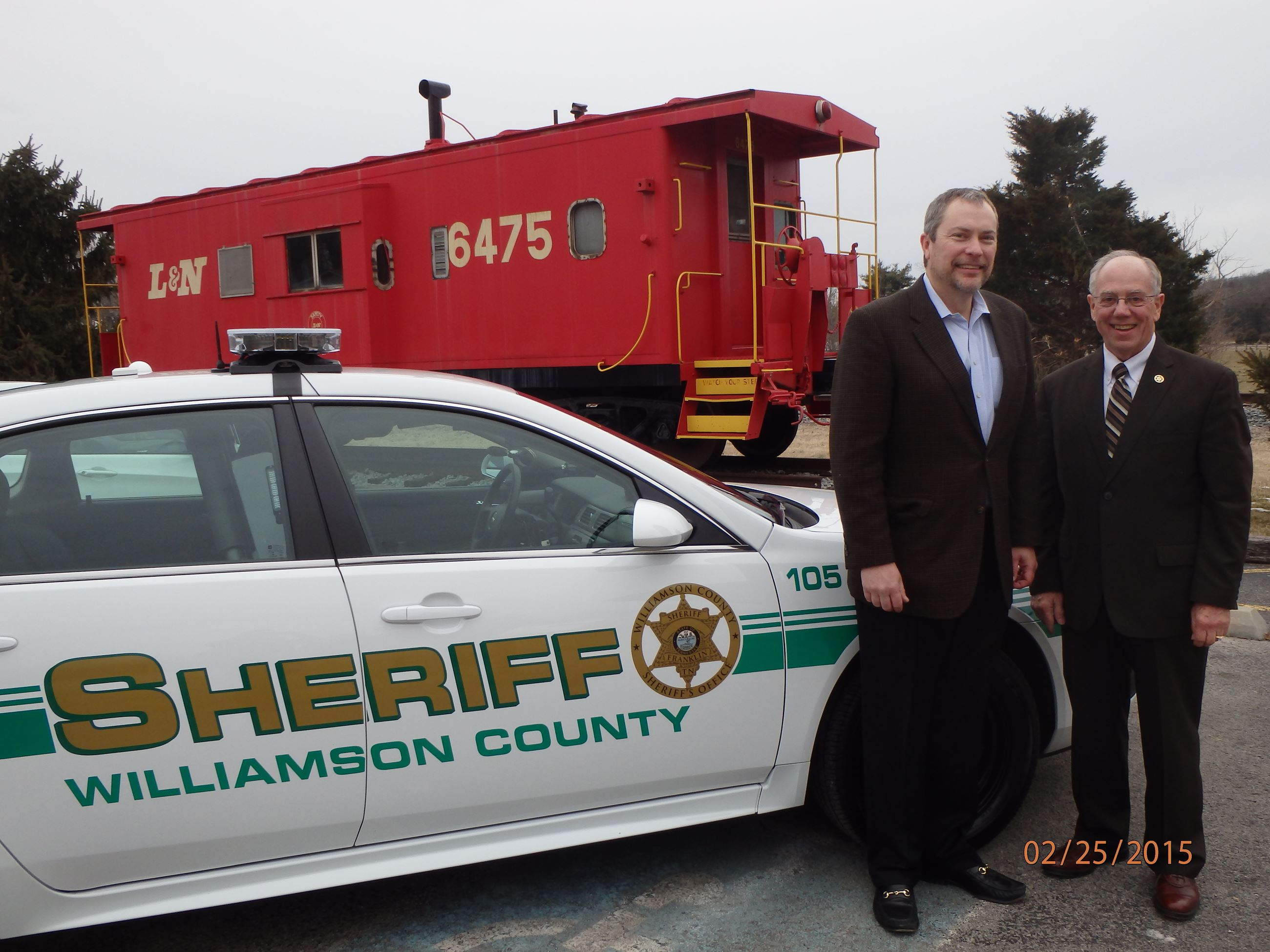 Williamson County Sheriff at Thompson's Station - Car Donation