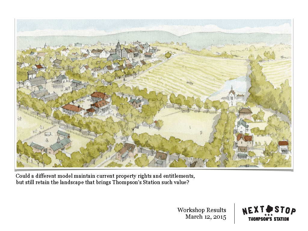 Illustrated Rural Landscape