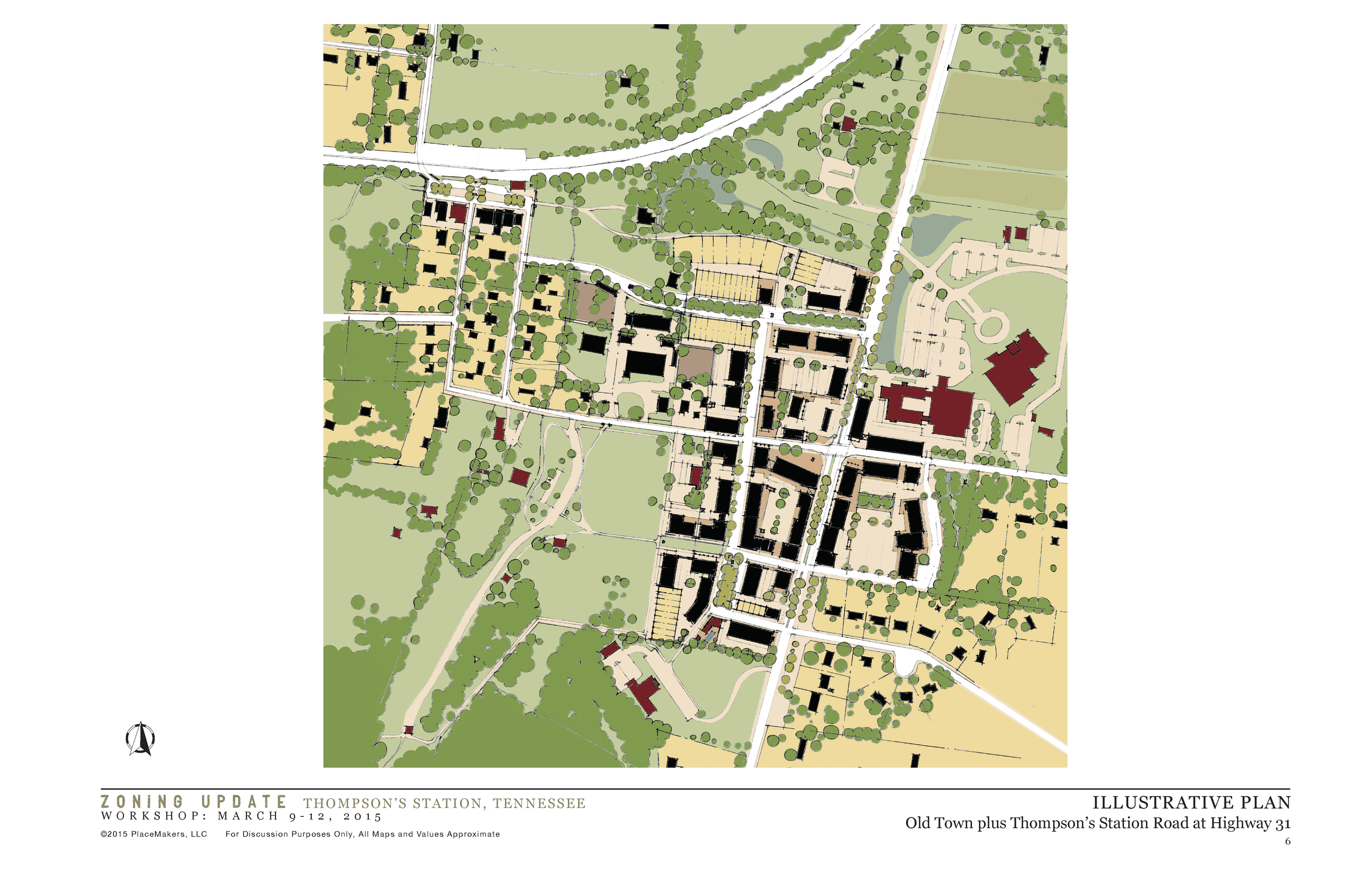 Illustrative Plan Town Center