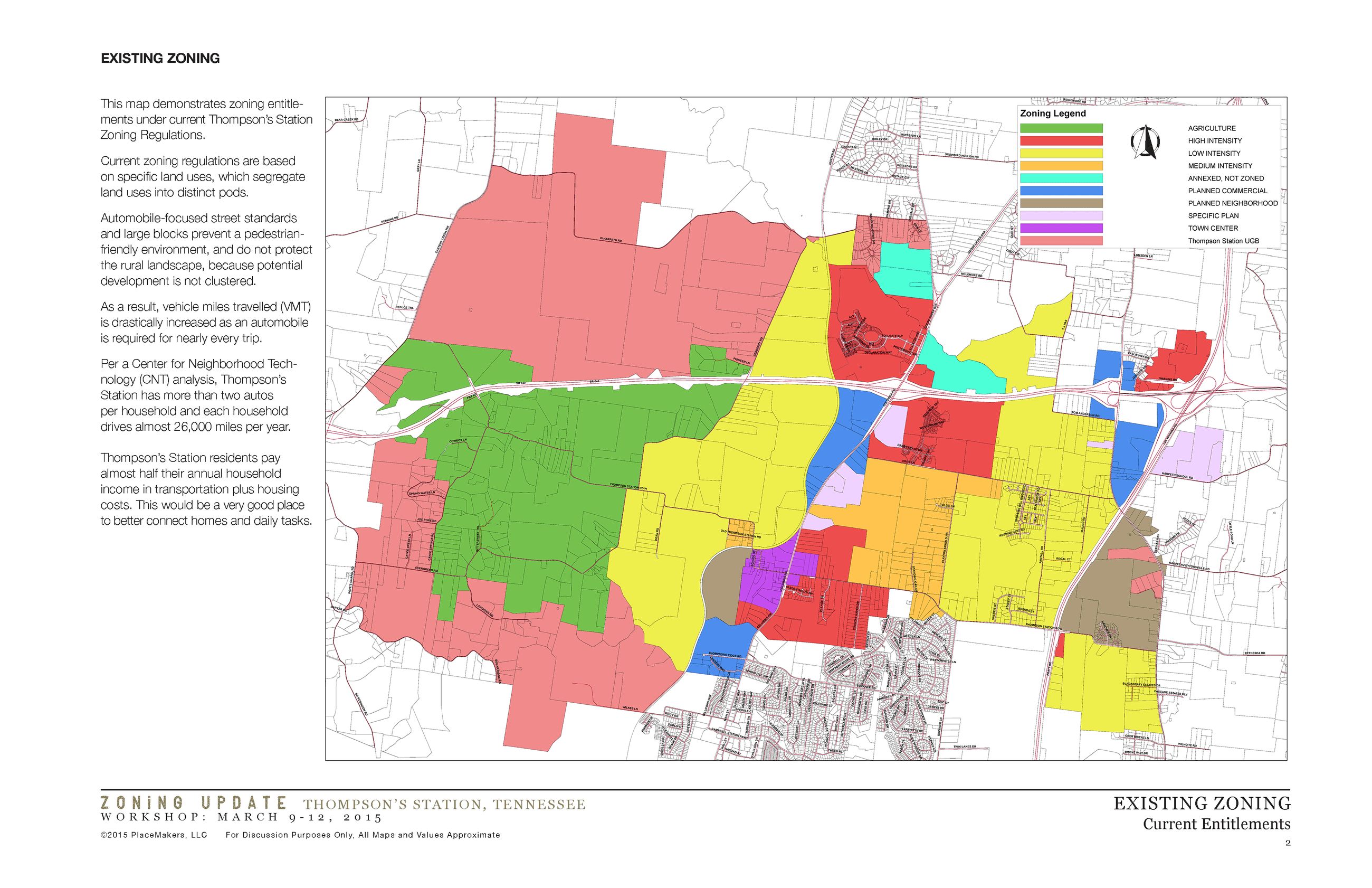 Old Zoning Map